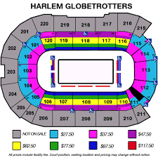 Harlem Globetrotters Angel Of The Winds Arena