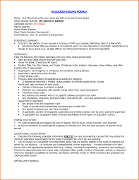 Proper Resume Example 47 Images How To Write A Good Cv