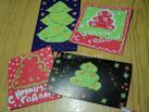 Новогодние открытки своими руками в саду