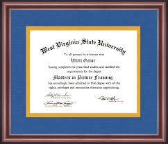 west virginia state university diploma frame talking walls west virginia state university diploma frame