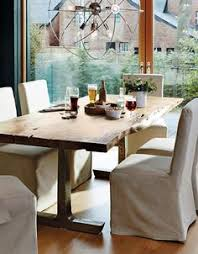 rustic textures make a statement with this raw edge acacia wood table each is one of a kind