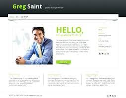 Web Resume Template Free Personal Resume Template Free PSD Beauteous Personal Resume Website