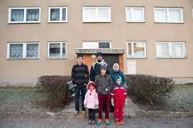 family from aleppo finds peace and quiet in a small n town in a small n town called viljandi the locals have accepted the kasem family rather well strangers often come up in the street to say hello and