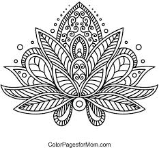 Free Printable Flower Coloring Pages Unique Flower Coloring Sheets