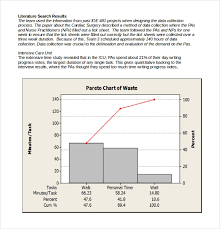 5 Free Download Pareto Chart Templates In Microsoft Word