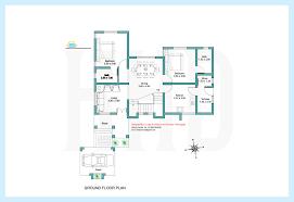 4 bedroom house floor plans 2000 sq feet contemporary villa plan and elevation