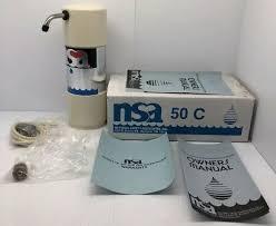 nsa 50c countertop water filter bacteriostatic water treatment unit