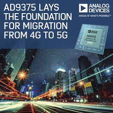 Analog Devices Design Contest Analog Devices Lays Foundation For 4g To 5g Migration With