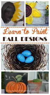 great fall decor painting tutorials