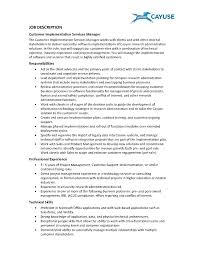 Customer Service Resume Job Description Template Customer Service Job Description Template 11