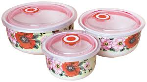 <b>Набор контейнеров Bekker BK</b>-5148 3 шт Poppy — купить в ...