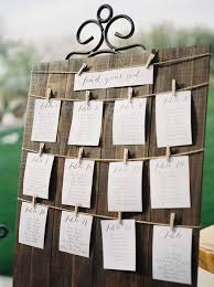 Trilogy At Vistancia Wedding A Wooden Guest Seating Chart