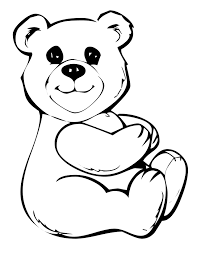 Small Picture Cute Bear Coloring Pages Dress The Teddy Bear Coloring Page