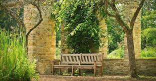plastic wood or metal garden furniture