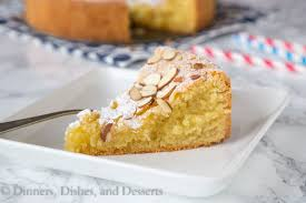 Almond Cake Dinners Dishes and Desserts