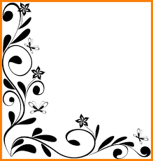 Flower Border Designs For Paper Flower Border Designs For Paper Best Photos Of Border Imagedge Org