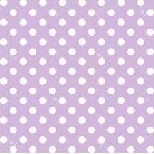 Light Purple And White Polka Dots Seamless Pattern Big White Polka Dots Pastel Lavender Background