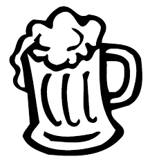 can clipart black and white. beer mugs cheers clipart kid 2 can black and white e
