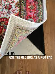Rug pad life hack