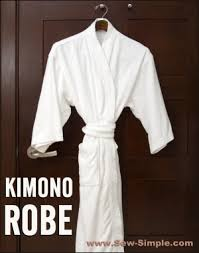 Kimono Robe Pattern Unique Kimono Robe Pattern SewSimple