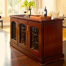Interesting Wine Cabinets For Modern Placed Middle Room Design Ideas: Wine  Cabinets Design With Brown