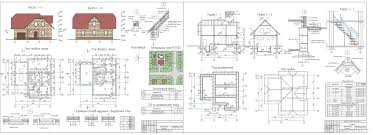 Курсовые и дипломные проекты коттеджи дачи скачать котедж в dwg  Дипломный проект колледж Двухэтажный коттедж с мансардой и гаражом 11 х 11 м