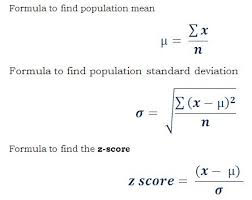 Z Score Chart Calculator Pin By Math Examples On Standard Deviation Example