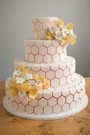 21 gorgeous geometric cakes for your modern wedding brit co