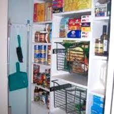 broom closet organizer shallow shelves leave room for a on the wall like diy