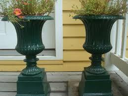 antique garden planters urns garden