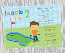 golf birthday party invitations com golf birthday party invitations how to make your own birthday invitations using word 5