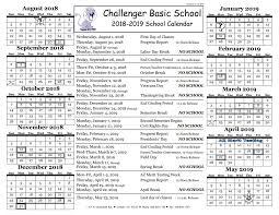 Basic Calendars Calendar Challenger Basic