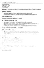 Inventory Control Resume Classy Resume Inventory Management Inventory Skills Resume Inventory