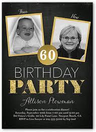 60 birthday invitations 60th birthday invitations shutterfly