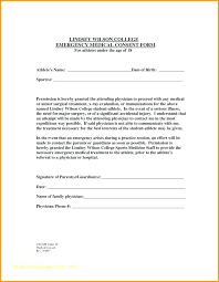 Printable Medical Release Form For Children Simple Parental Consent Form Template Sample Child Consent Forms Templates