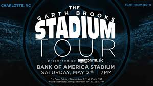 Garth Brooks Atlanta Seating Chart Bank Of America Stadium To Host Garth Brooks Concert In 2020