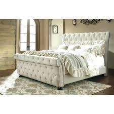 Light Grey Tufted Bed Light Grey Upholstered Bed Bedroom Grey Fabric ...