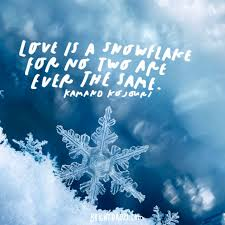 Snowflake Love Quotes Mesmerizing Snowflake Love Quotes Endearing 48 Beautiful Quotes On Seeing Each