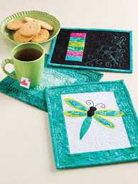 Quilt Pattern Books - Learn to Make Quilted Mug Rugs & Learn to Make Quilted Mug Rugs Adamdwight.com