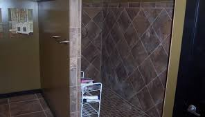 tile design shower bathrooms ideas photos without decorating rustic pictures bathroom ceramic for door small agreeable