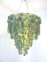 green sea glass chandelier chandelier mini chandelier white chandelier chandeliers intended for sea glass chandelier