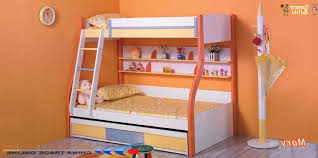 ... Kids Room : Kids Bedroom Furniture With Green Cabin Beds Made Of Wooden  And Within The ...