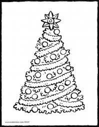 Een Kerstboom Met Een Grote Ster Kiddicolour