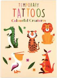 Dětská Sada Tetování Svět Zvířat Skibi Kids