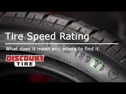 Tire Speed Rating What Is Tire Speed Rating Discount Tire