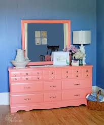 coral furniture. Coral Painted Dresser Makeover Furniture
