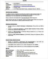 Web Developer Resume From Example Software Engineer Resume Good