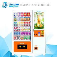 Energy Drink Vending Machine Classy China Energy Drink Vending Machines With Refrigerator Photos