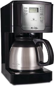 Comes with water filtration disk filters. Mr Coffee Jwtx85 8 Cup Thermal Coffeemaker Stainless Steel Coffee Maker Coffee Drip Coffee Maker