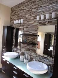 modern bathroom backsplash. Elegant Contemporary Backsplash Contemporary-bathroom Modern Bathroom O
